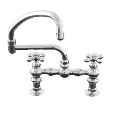 Deck Mount Kitchen Faucet with Swivel Pot Filler Spout-P0833