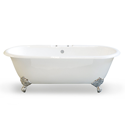 double ended clawfoot tub canada