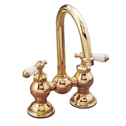 Columbia Bridge Style Faucet Set