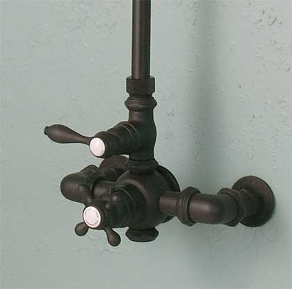 oil rubbed bronze thermostatic shower handle
