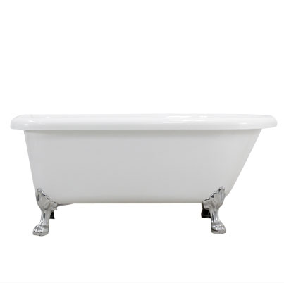Classic Acrylic clawfoot tub