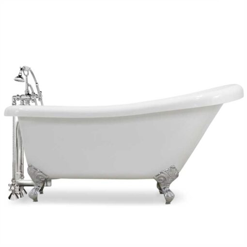Complete Acrylic Slipper Claw Tub Package canada