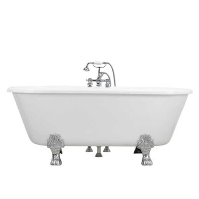 claw tub package with antique style faucet