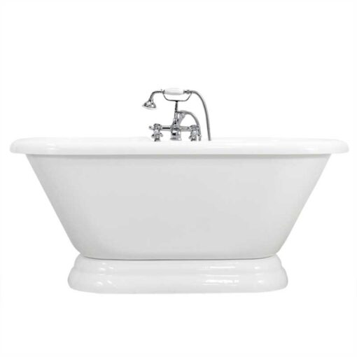 double ended pedestal tub complete package canada