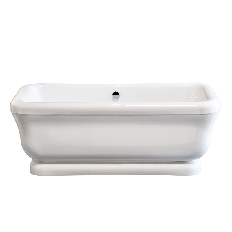 70 Acrylic Freestanding Tub P0945 Clawfoot Tubs And Faucets The L