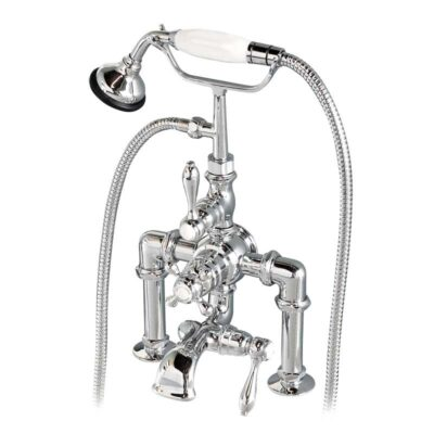 Thermostatic Exposed Deck Mount Tub faucet Chrome