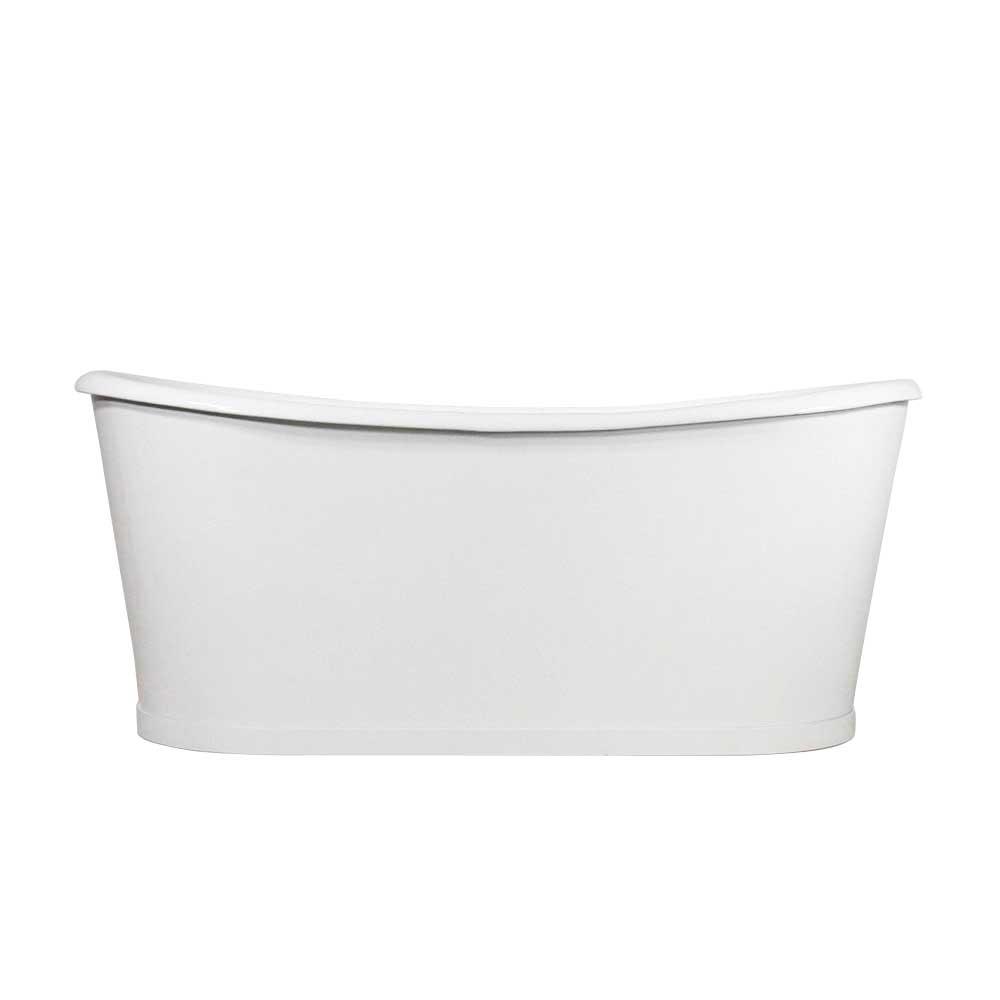 Cast Iron French Bateau skirted tub