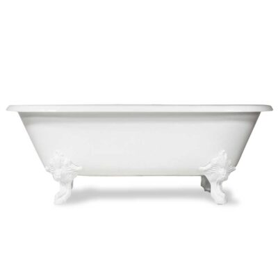 double ended cast iron tub white feet clawfoot tub canada