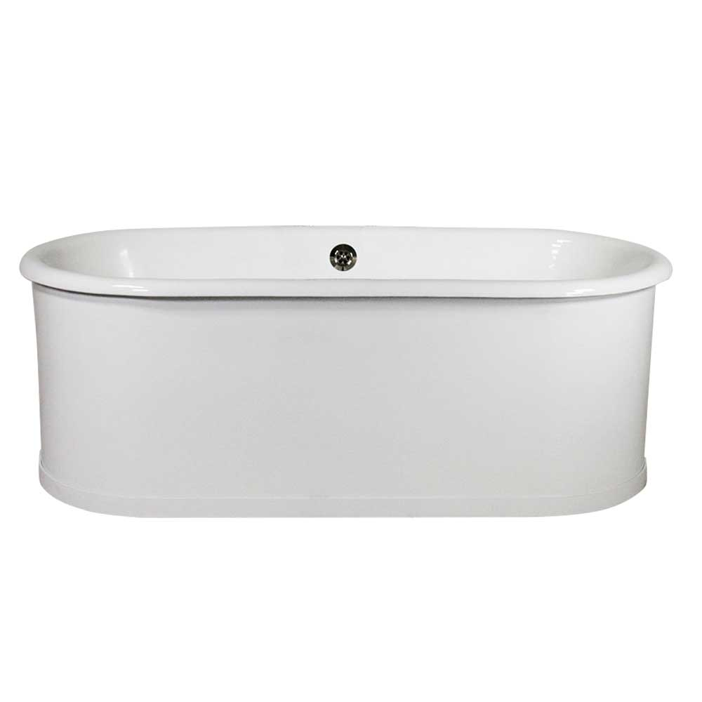 5\' Cast Iron Aluminum Skirted Tub | Clawfoot Tubs and Faucets - The ...